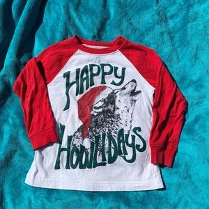 Gymboree happy howlidays shirt!